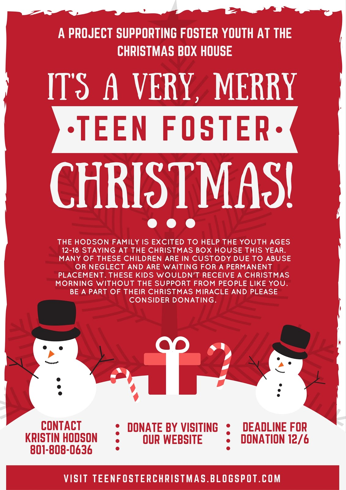 It's a Very, Merry Teen Foster Christmas