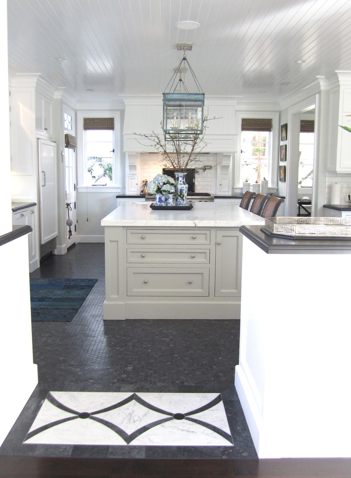 Classic kitchen on pinterest islands white kitchens and for Casual kitchen design ideas