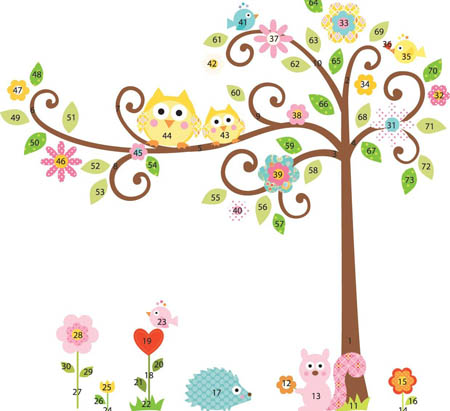 wall decals for nursery decorating forest animal nursery wall decals