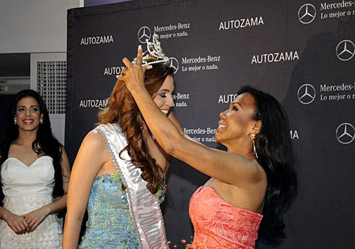 Magali Febles,miss universe dominican republic 2012