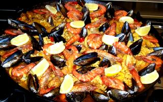 Paella Recette
