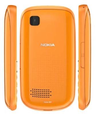 top Nokia Asha 201 Touchscreen Phone