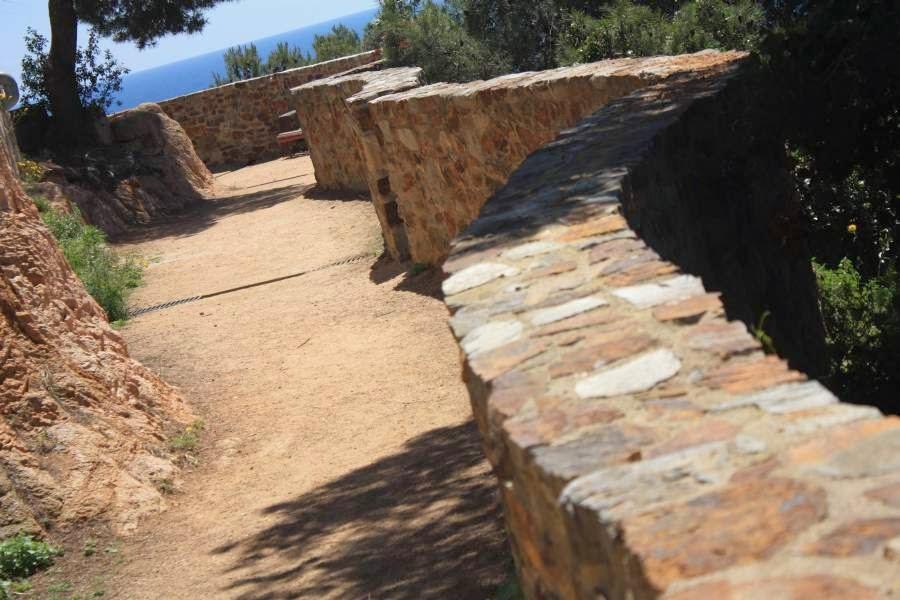 Camí de Ronda in Sant Feliu de Guixols