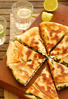 Turkish Silverbeet & Feta Gozleme Recipe