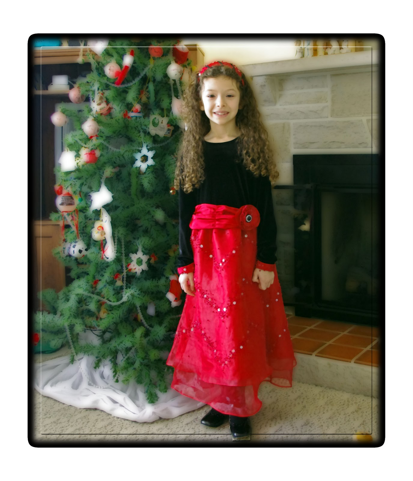 Squigglytwigs designs the perfect christmas dress pattern plus