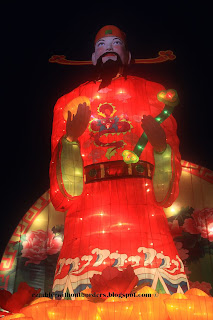 God of Fortune, God of Wealth, in the Float in 2013 Chinese New Year, Singapore