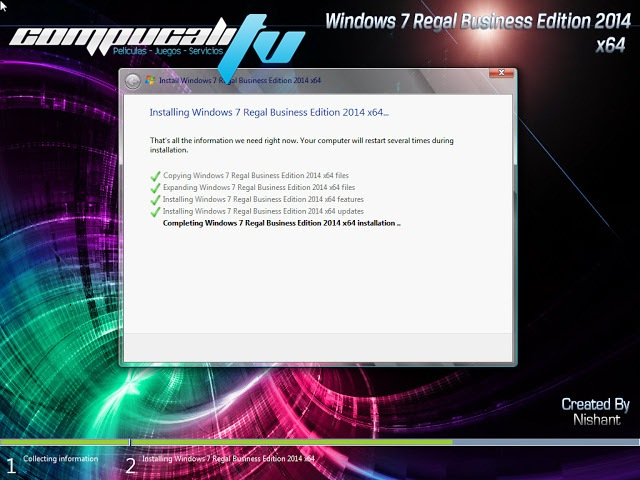 Windows 7 Regal Business Edition 2014 SP1 Español