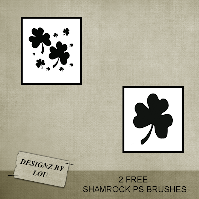 CU St Patricks papers and PS brush set Dbl_shamrock_ps_brushes_preview