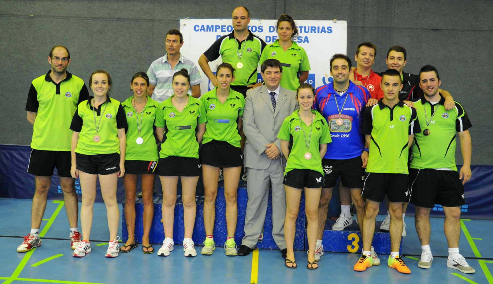 Avil s tenis de mesa resultados del campeonato de asturias absoluto - Aviles tenis de mesa ...