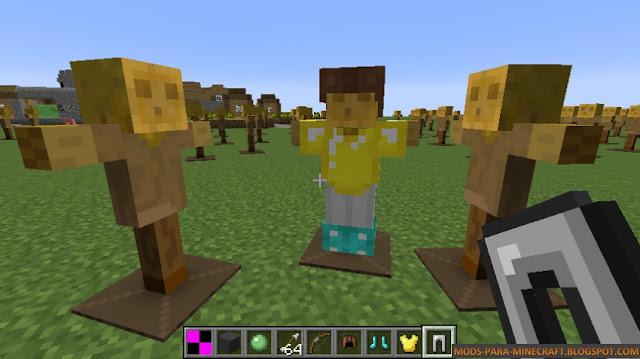 El dummy de Minecraft en acción !
