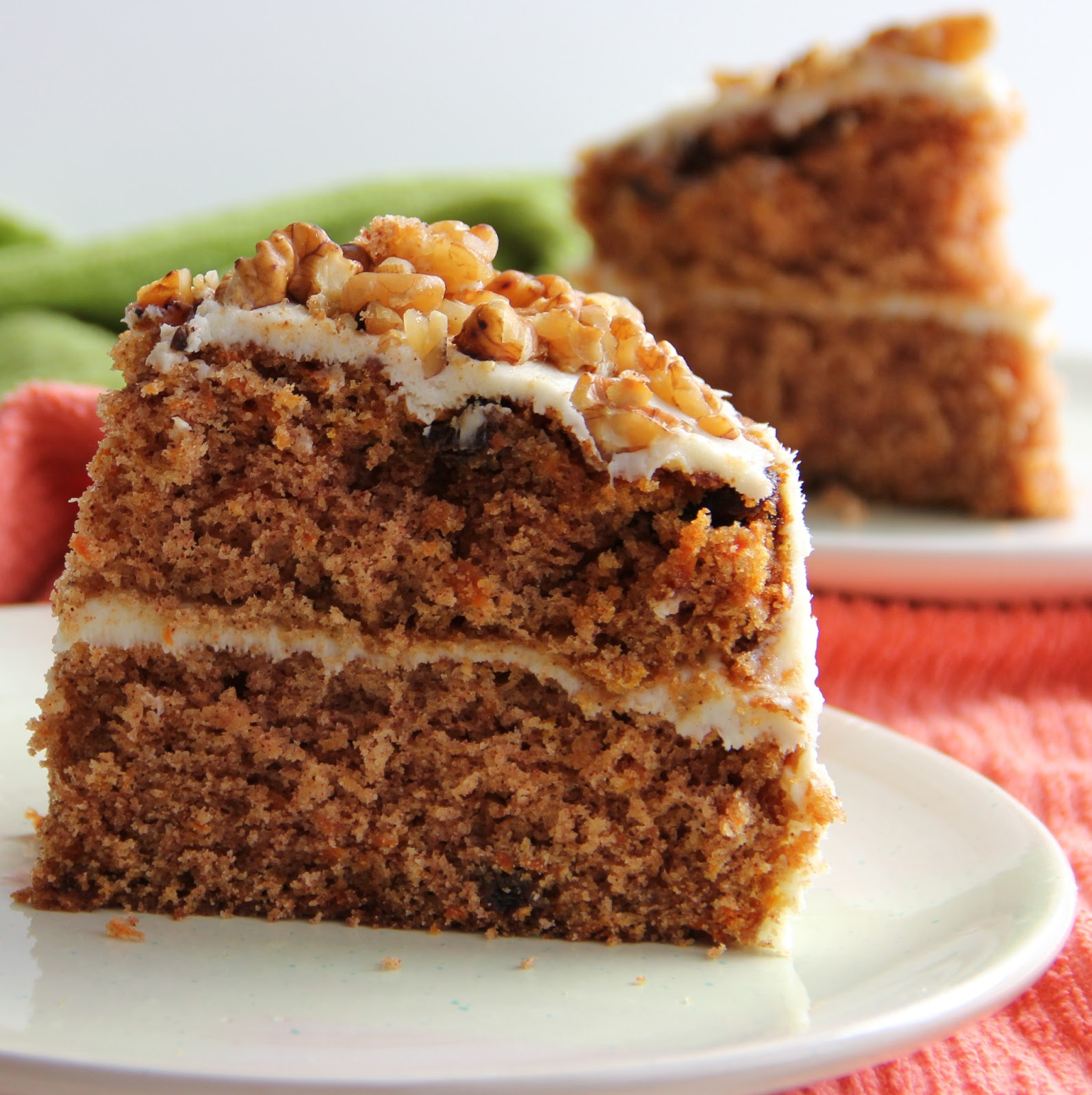 Carrot Cake with Cream Cheese Frosting (cake adapted from Joy of ...