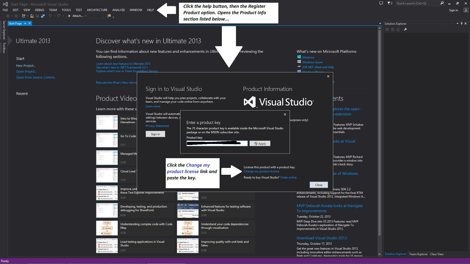 microsoft visual studio 2015 ultimate product key