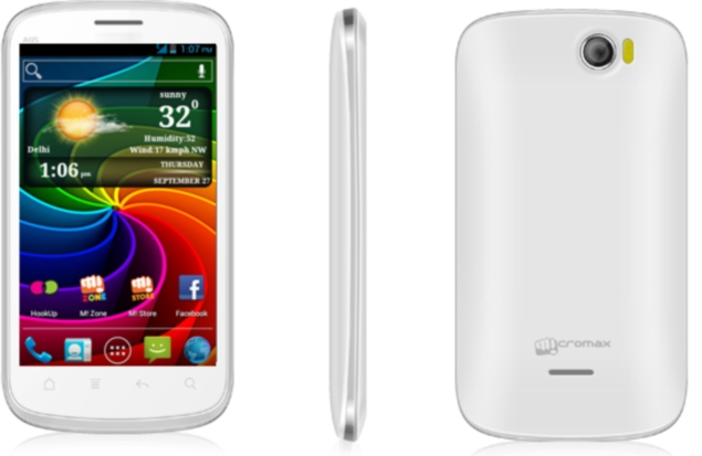 Micromax Smarty A65 dual-SIM Android