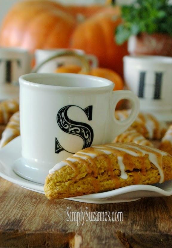 pumpkin scones #desserts #sweets #scones #pumpkin