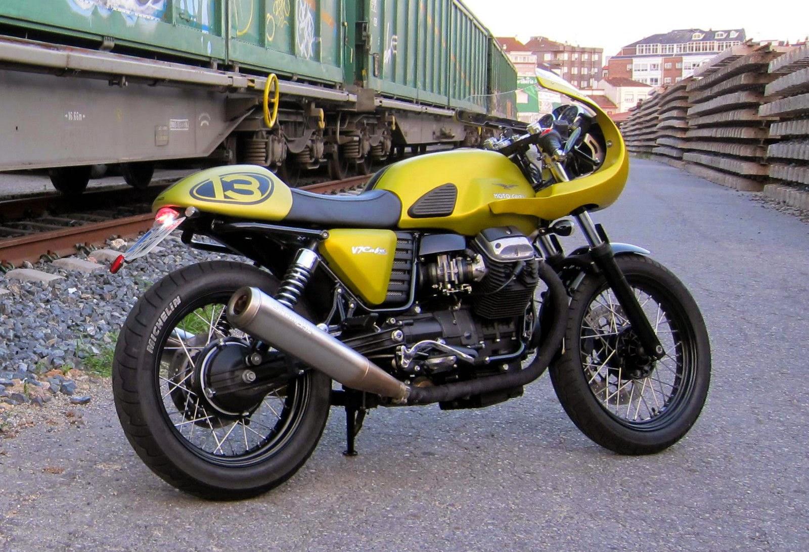 Moto Guzzi Cafe Racer Seat