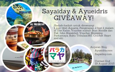 http://www.sayaiday.com/2015/08/sayaiday-dan-ayueidris-giveaway.html