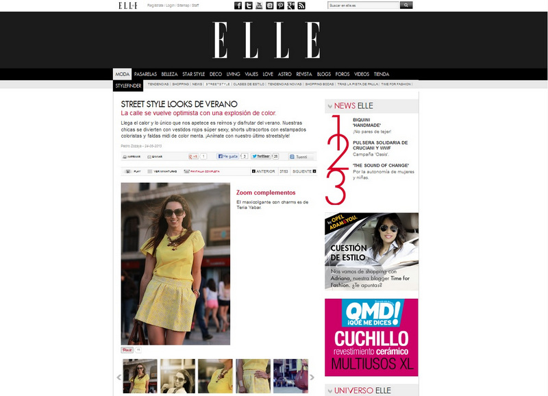 Estilo stiletto en la revista elle estilo stiletto by - Personal shopper alicante ...