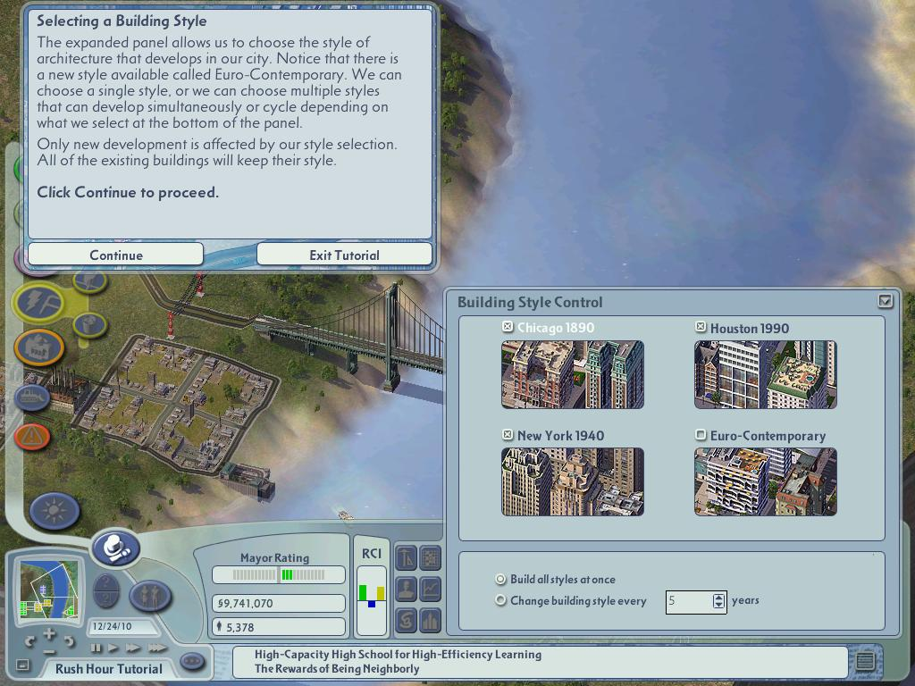 Simcity  Reward Buildings