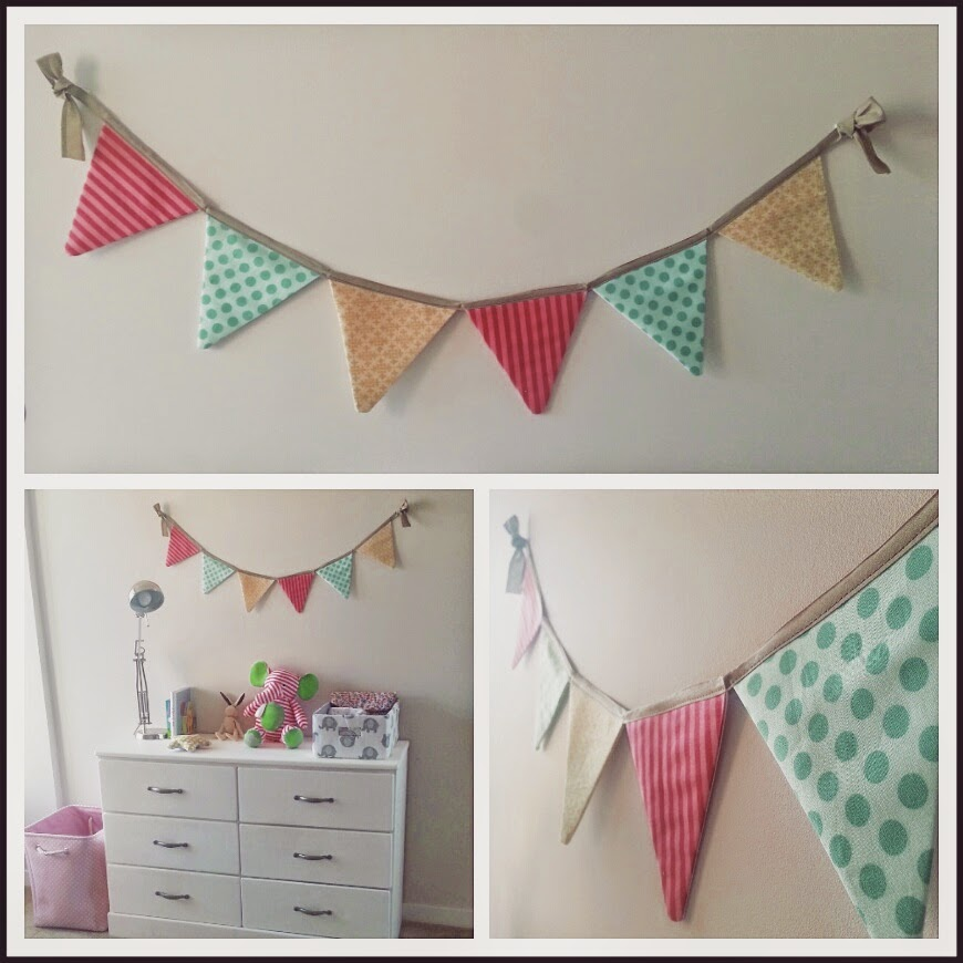 Lanitasypapel haz banderas decorativas de colores para for Como hacer decoraciones para paredes