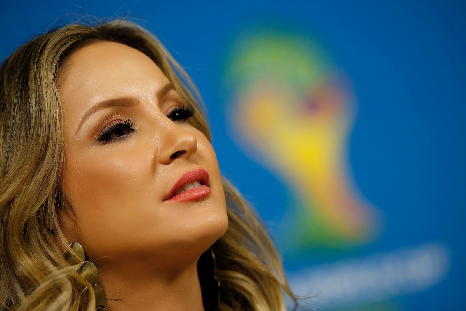 Brazil, Claudia Leitte, Claudia Leitte Photo, FIFA Opening Ceremony, FIFA World Cup, FIFA World Cup 2014, Football, Pitbull, Pitbull and Claudia Leitte, Pitbull Photo, Sao Paulo, Showbiz, Singer, Soccer, Sports,