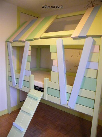 des lits superpos s sur mesure pour le bonheur des enfants et la jalousie des parents le. Black Bedroom Furniture Sets. Home Design Ideas