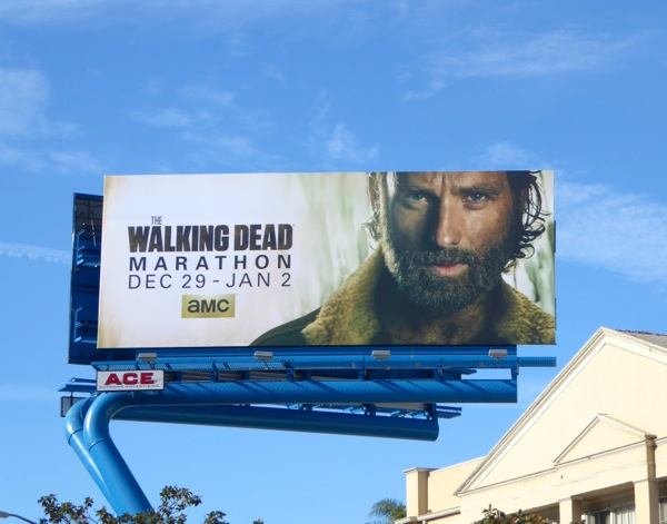 Walking Dead marathon billboard