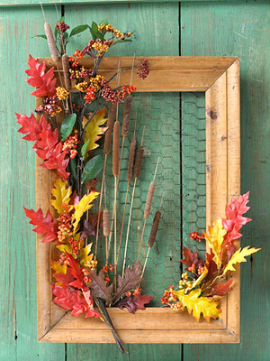 Real estate powerful thanksgiving centerpieces and wreath for Diy thanksgiving door decorations
