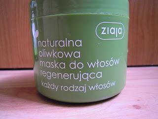 Ziaja, Oliwkowa, Naturalna maska do włosów regenerująca Recenzja