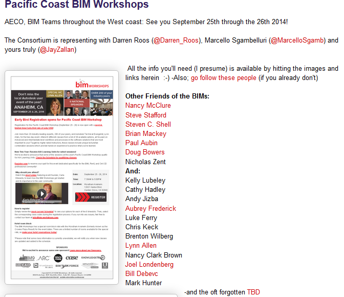 http://cad-vs-bim.blogspot.com/2014/07/pacific-coast-bim-workshops.html