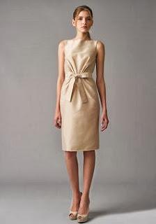 Vestidos Modernos, Dorados,  Dama de Honor