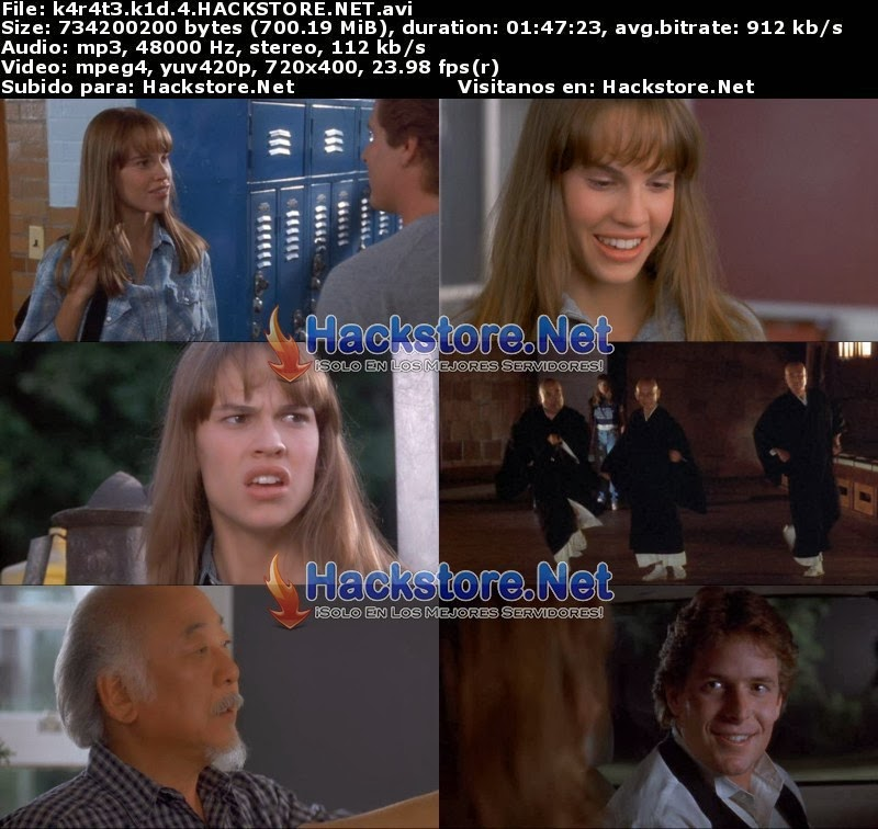 Captura Karate Kid 4 (1994) DVDRip Latino
