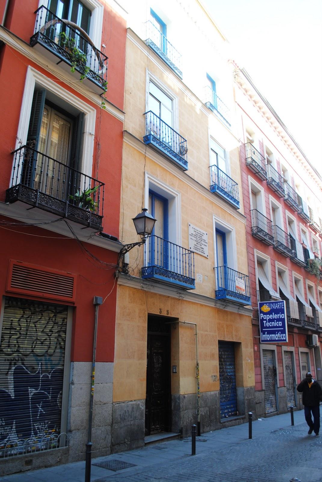 Resonancias m sicos italianos en madrid for Casa granada tirso de molina