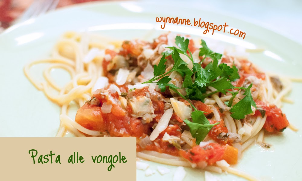 Picture of pasta alle vongole
