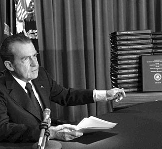 united states v nixon United states v nixon subpoena under executive privilege whether, why,  and how president jefferson complied with this judicial order.