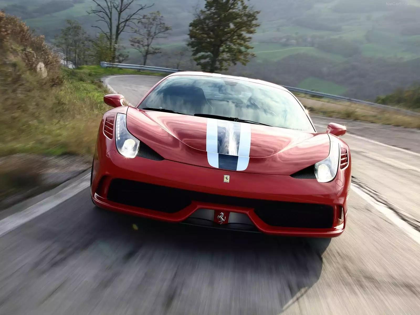 Hình ảnh siêu xe Ferrari 458 Speciale 2014 & nội ngoại thất