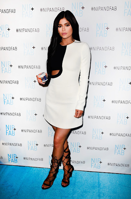 Television Personality, Socialite, Model, @Kylie Jenner - announced as Brand Ambassador for Nip + Fab at W Hollywood