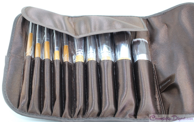 Missame 10pc Cruelty free Bamboo Makeup Brush Set review