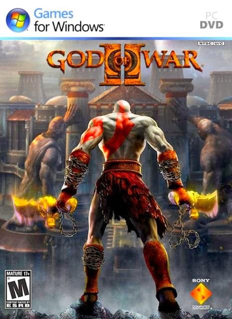 god of war 2 cover
