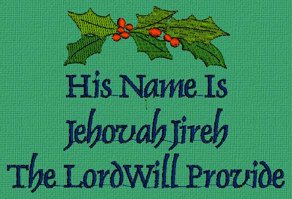 Hosanna Inc The Meaning And Origin Of The Name Jehovah Jireh
