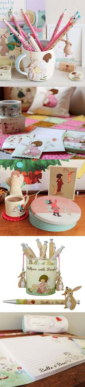 Belle e Boo produtos fofos e papelaria