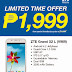 Get your ZTE Grand X2 L (V969) 5.5-inch quad-core phone today at Php 1,999!