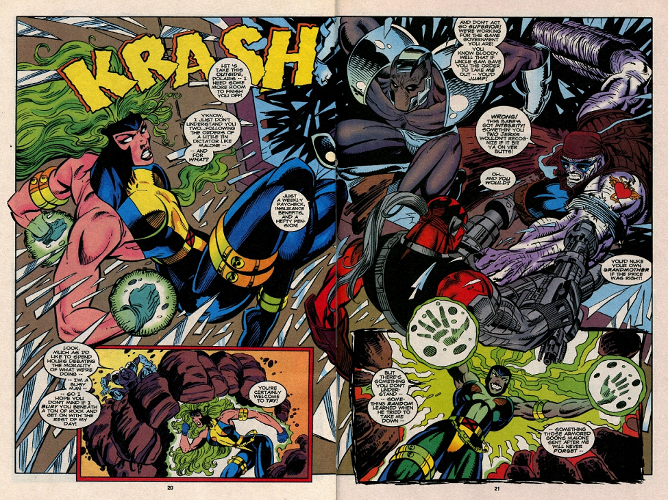 Super dupertoybox x factor 102 polaris and random comicsfan commented on my comparisons among marvels x teams of the 90s in my last post on x factor 100 comparing then newcomer random to wolverine publicscrutiny Choice Image