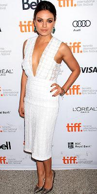 Mila Kunis, Burberry Prorsum, TIFF, Toronto