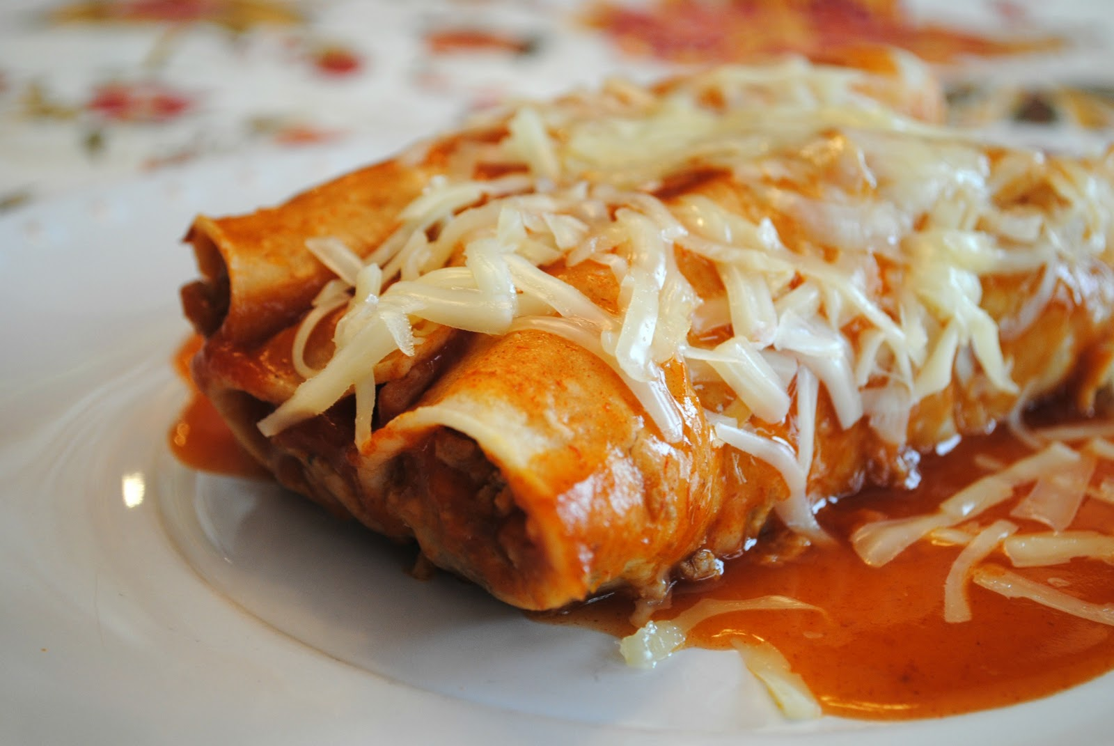 Living With Imperfection: Quick Turkey Enchiladas