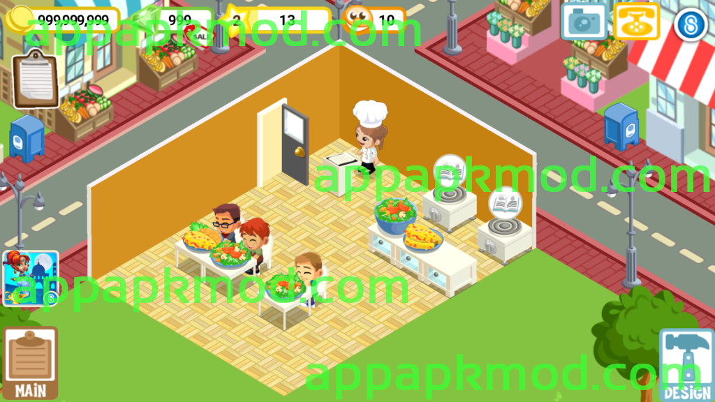 restaurant story 2 mod apk unlimited money
