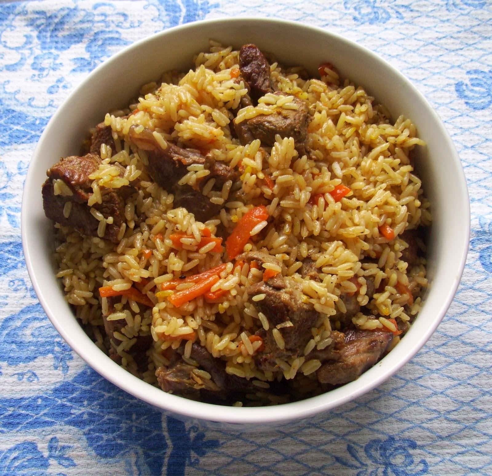 Meine kulinärrische Seite: Uzbekischer Plow (Плов)