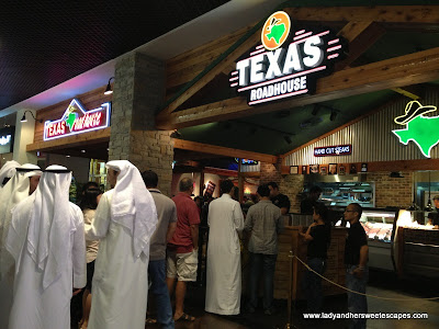 Texas Roadhouse Dubai Mall