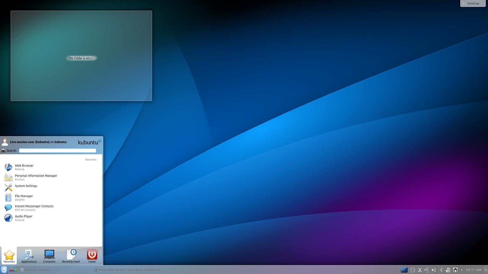 See What S New In Kubuntu 13 04 Raring Ringtail Web Upd8 Ubuntu Linux Blog
