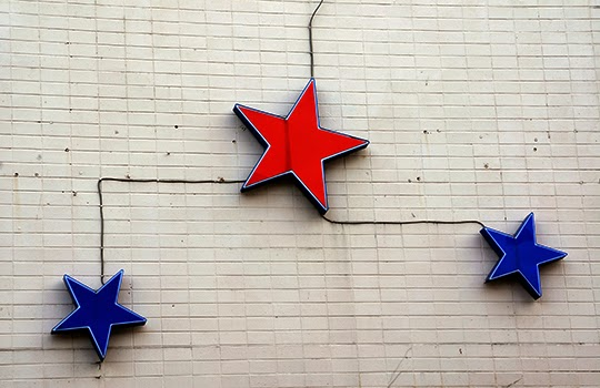 stars, signs, urban, photography