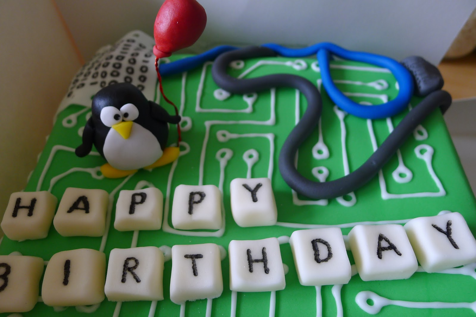 Hello Is It Tea Youre Looking For Computer Inside Birthday Cake